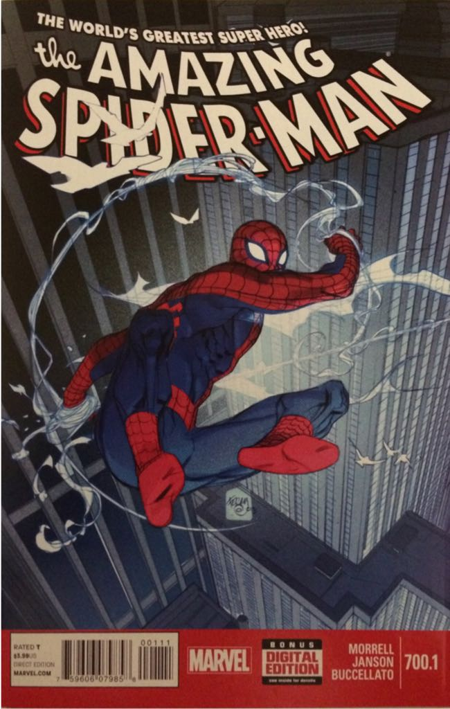 The Amazing Spider-man - 700.1 cover