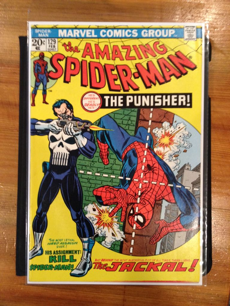 The Amazing Spider-man - 129 cover
