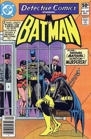 Batman - 497 cover