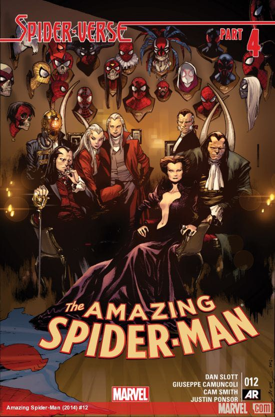 The Amazing Spider-man - 12 cover