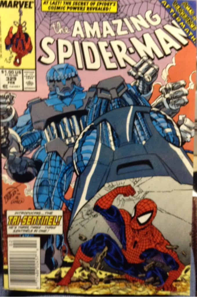 The Amazing Spider-man - 329 cover