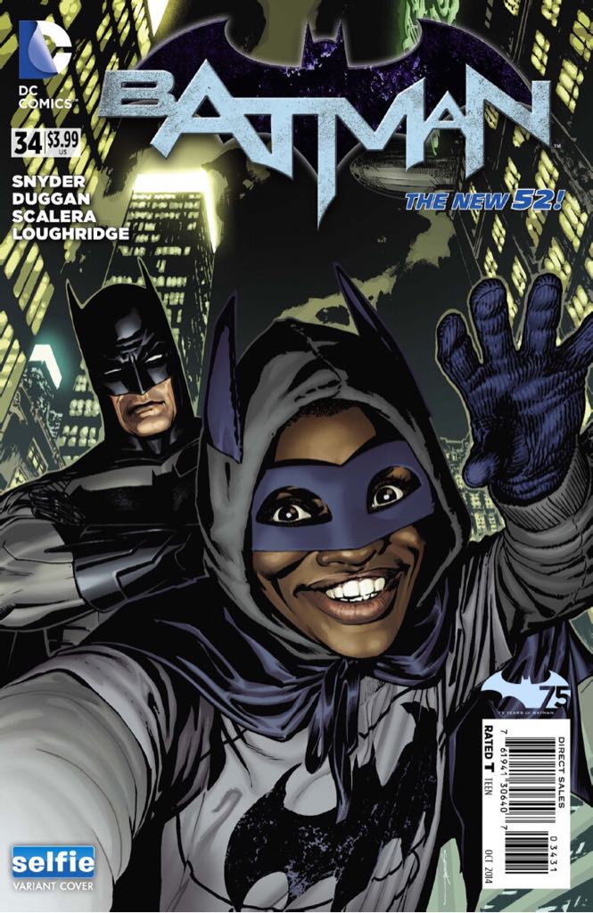 Batman - 34 cover