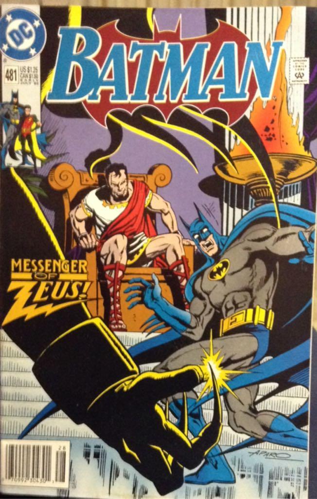 Batman - 481 cover
