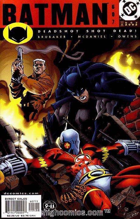 Batman - 607 cover
