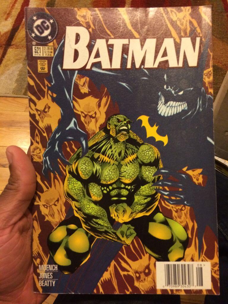 Batman - 521 cover
