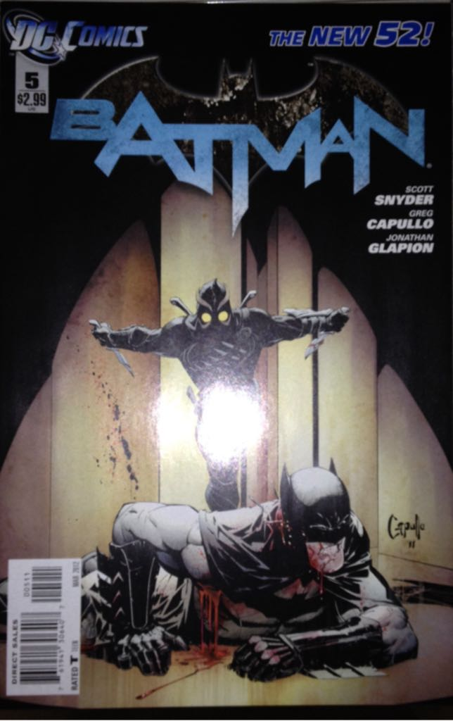 Batman - 5 cover
