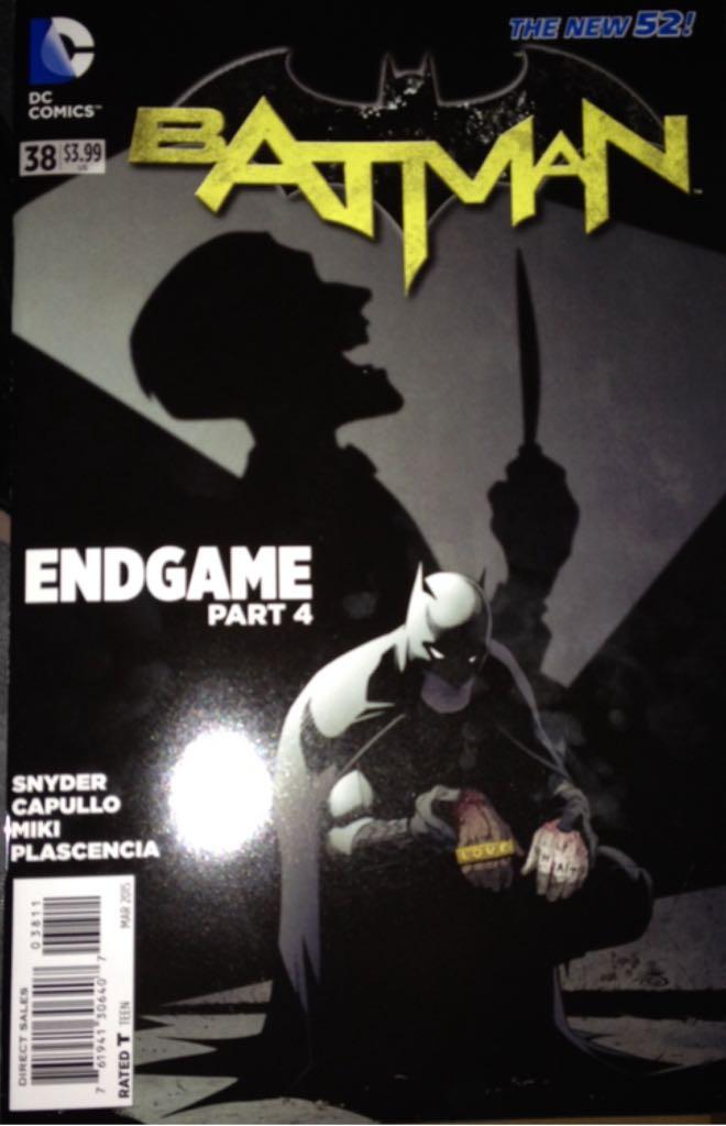 Batman - 38 cover