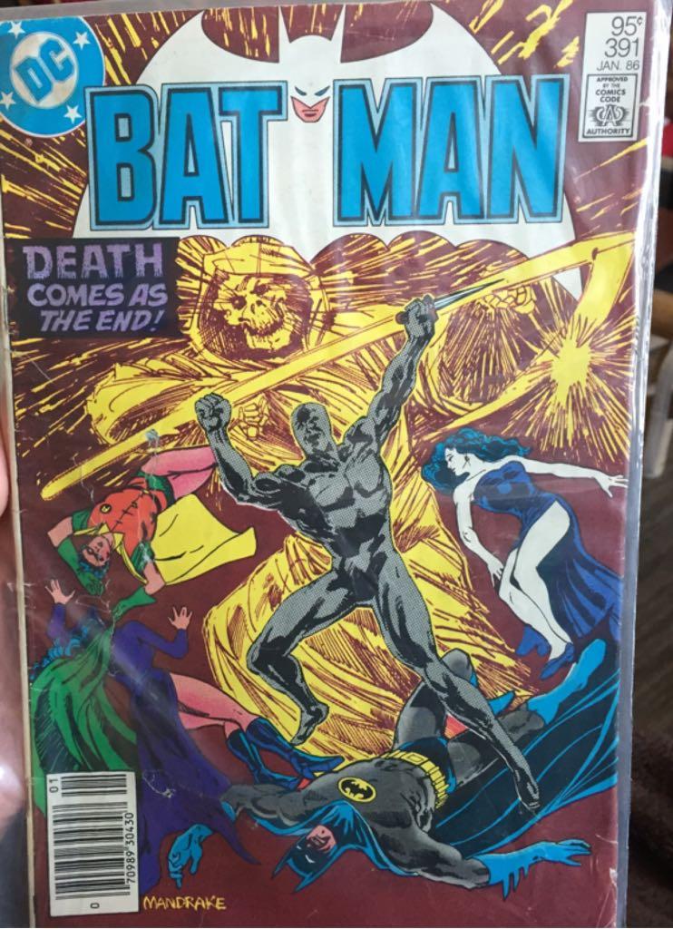 Batman - 391 cover