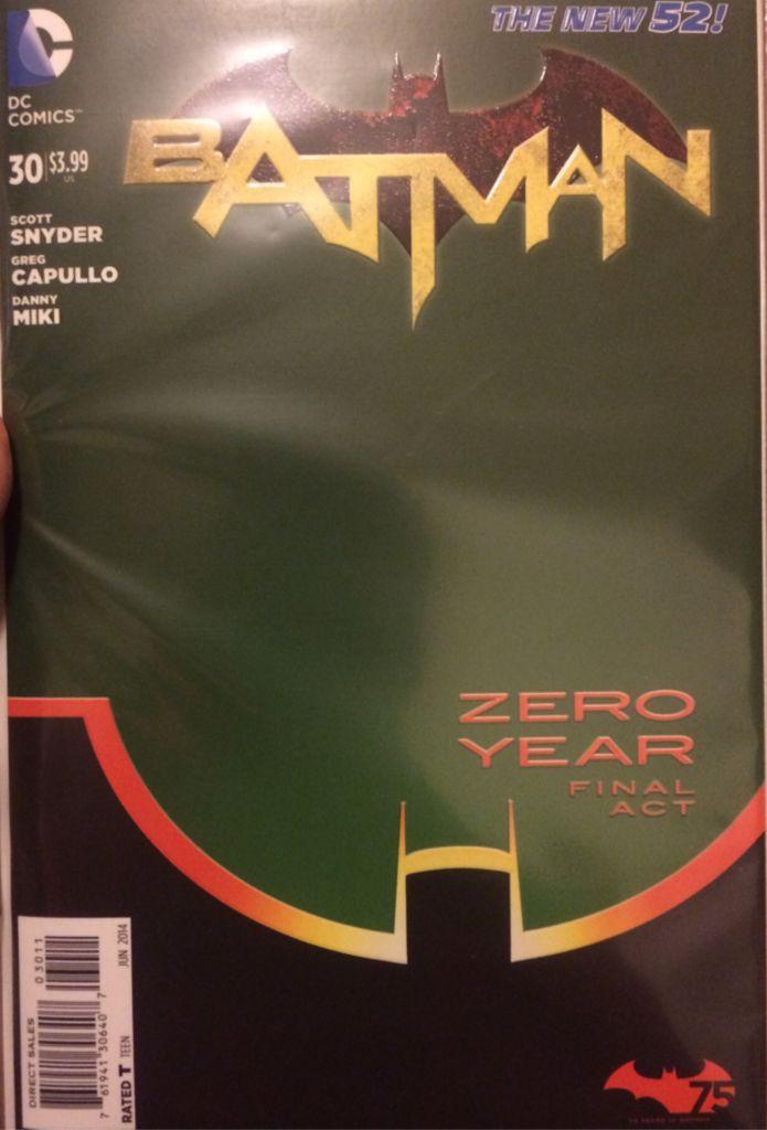 Batman - 30 cover