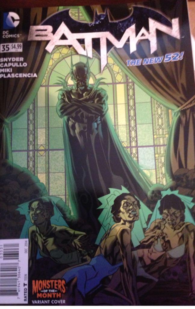 Batman - 35 cover