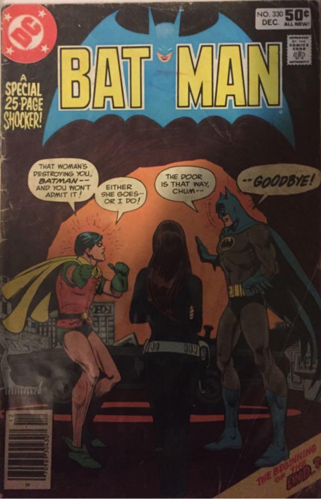 Batman - 330 cover