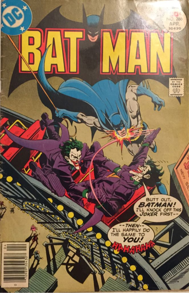 Batman - 286 cover