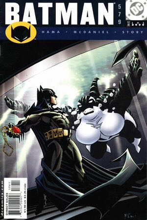 Batman - 579 cover