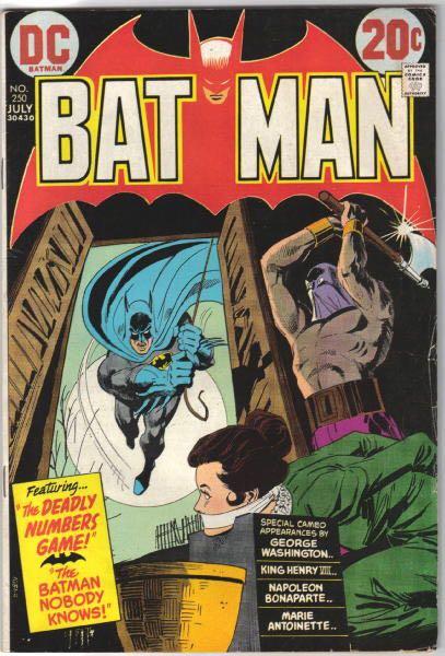 Batman - 250 cover
