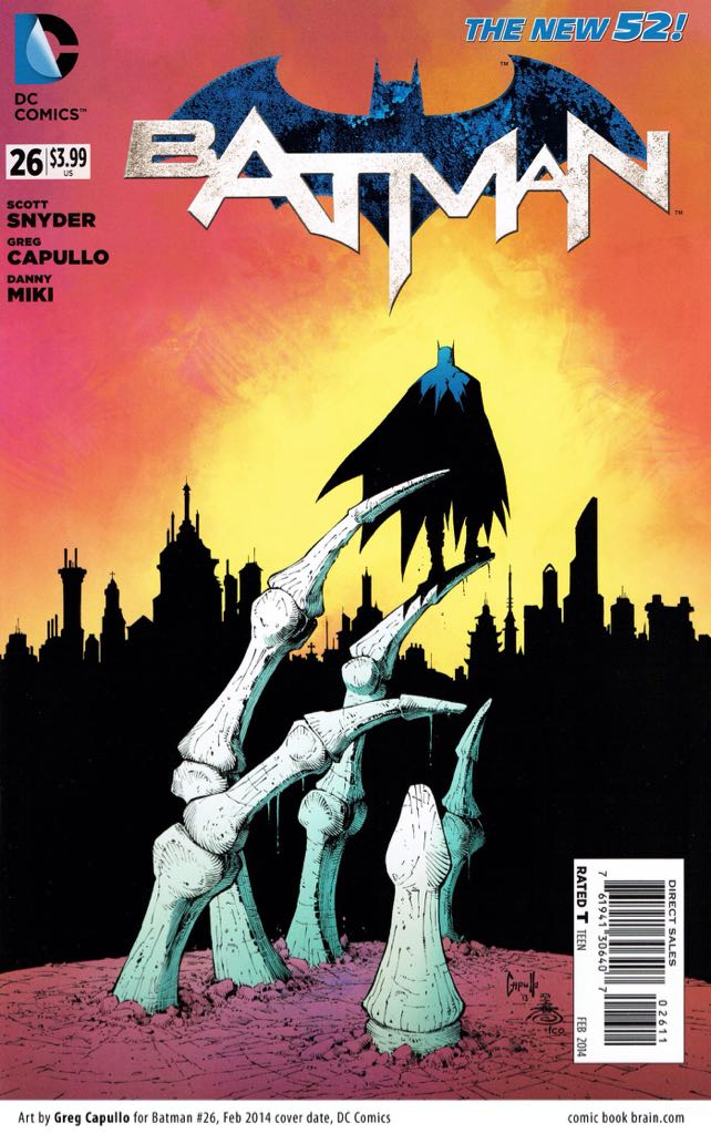 Batman - 26 cover