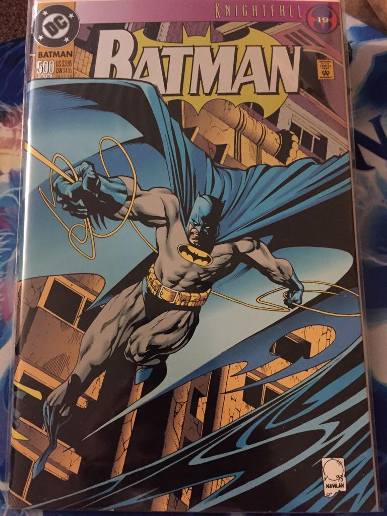 Batman - 500 cover