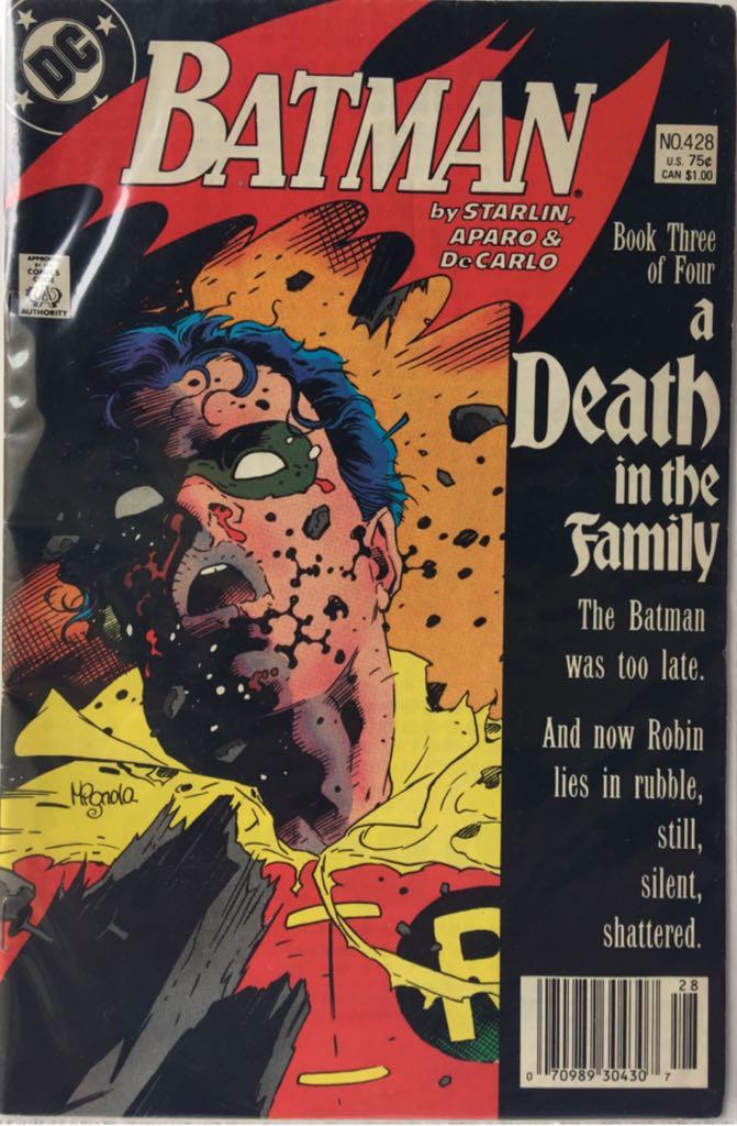 Batman - 428 cover