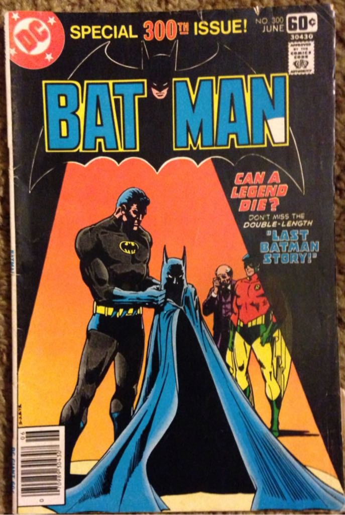 Batman - 310 cover