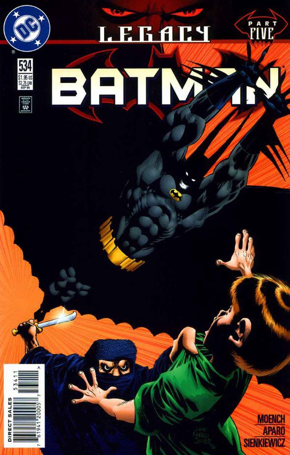 Batman - 534 cover