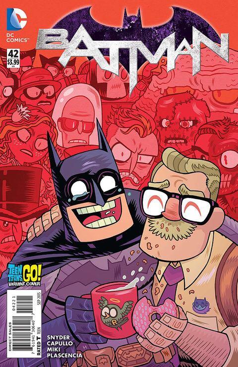 Batman - 42 cover