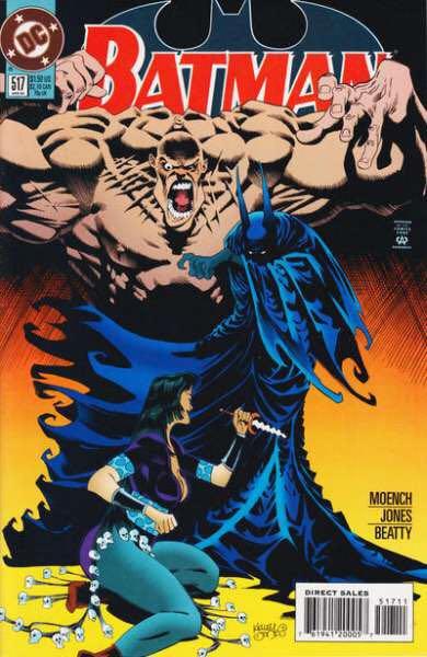 Batman - 517 cover