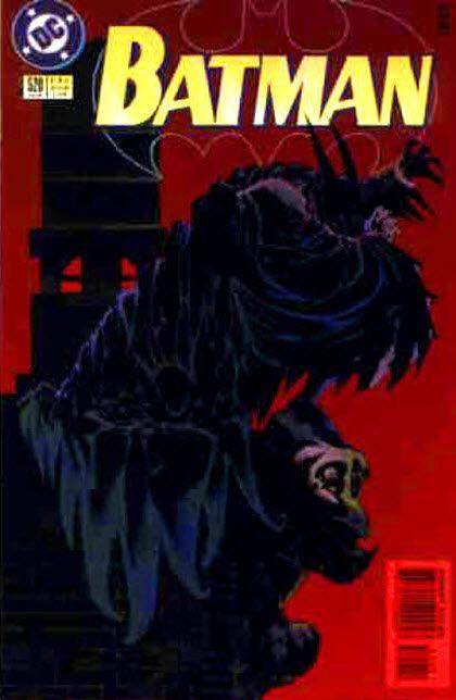 Batman - 520 cover