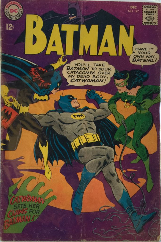 Batman - 197 cover