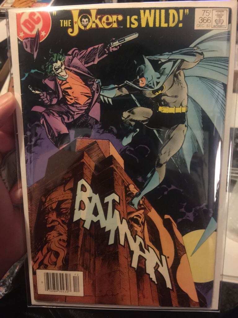 Batman - 366 cover