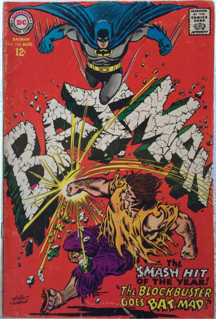 Batman - 194 cover