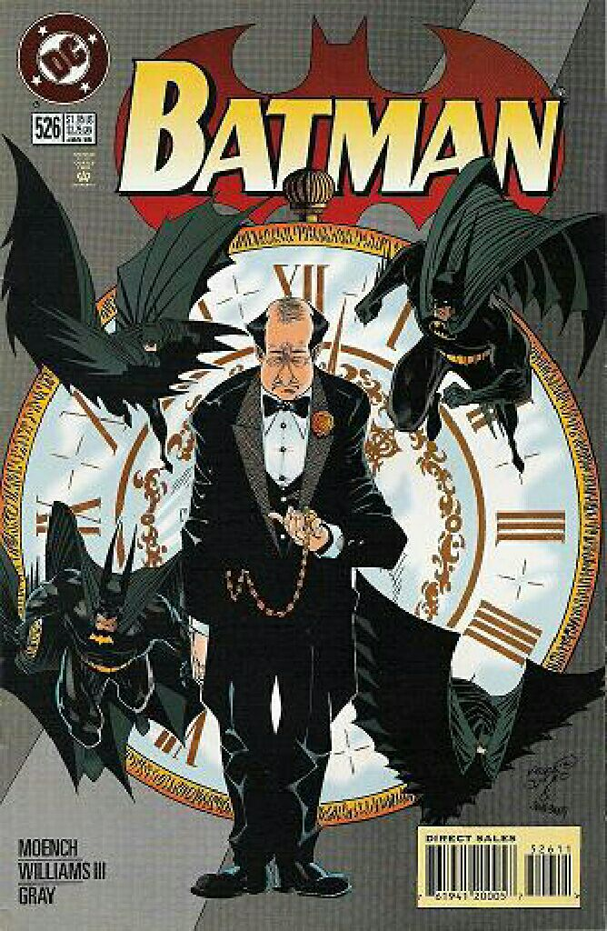 Batman - 526 cover