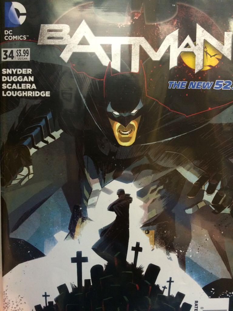Batman - 34 cover
