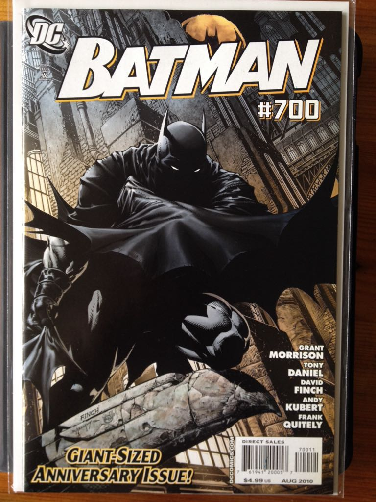 Batman - 700 cover