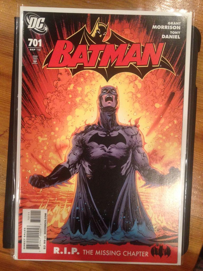 Batman - 701 cover