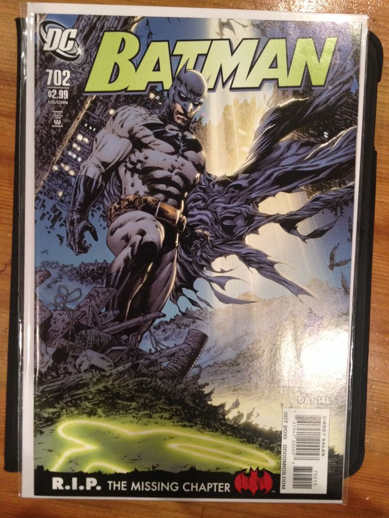 Batman - 702 cover