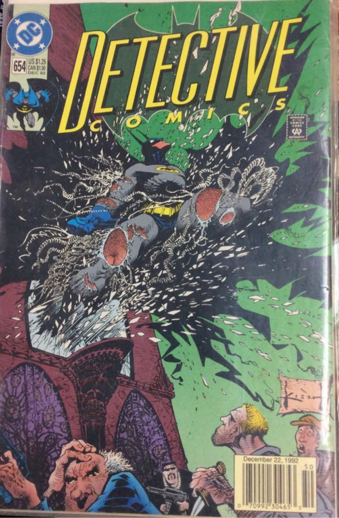 Batman - 654 cover