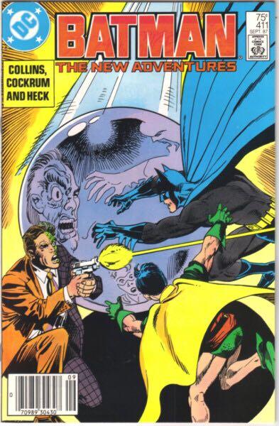 Batman - 411 cover