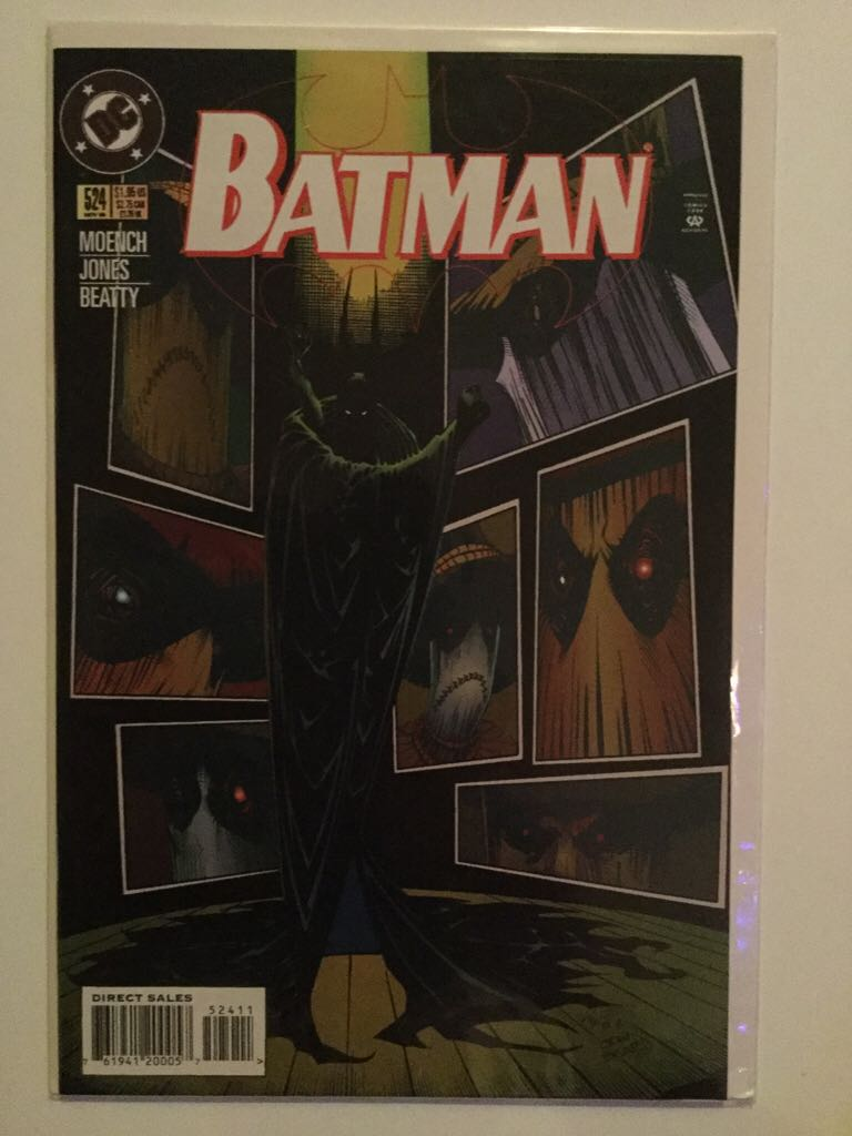 Batman - 524 cover