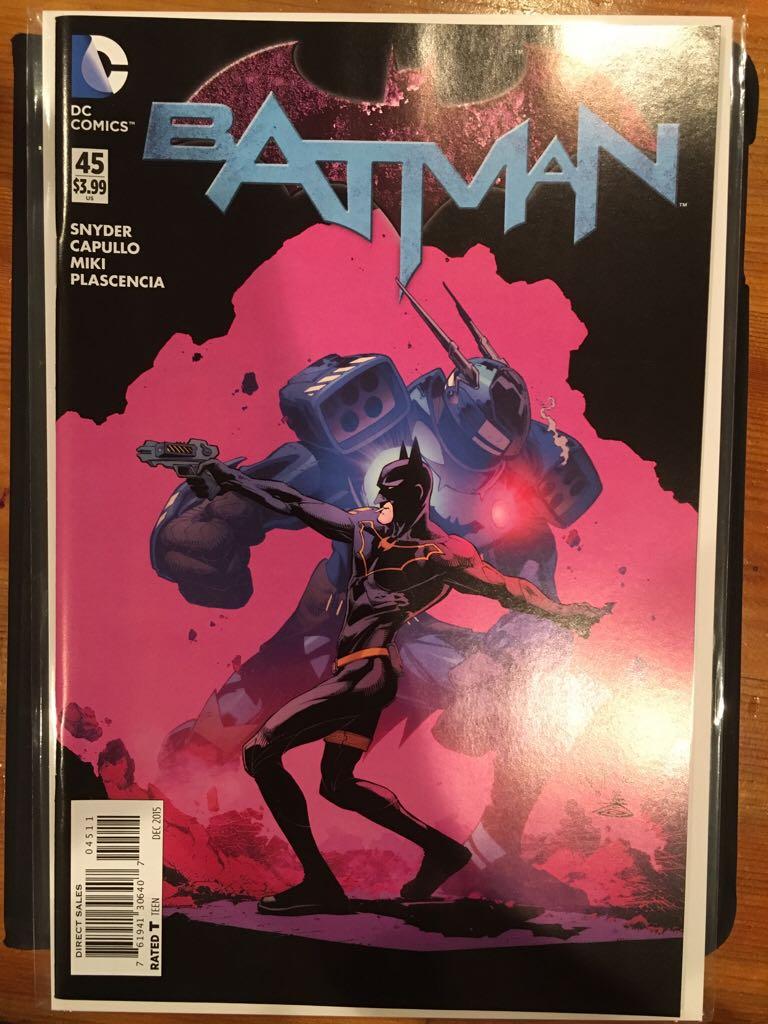 Batman - 45 cover