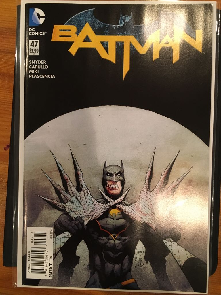 Batman - 47 cover
