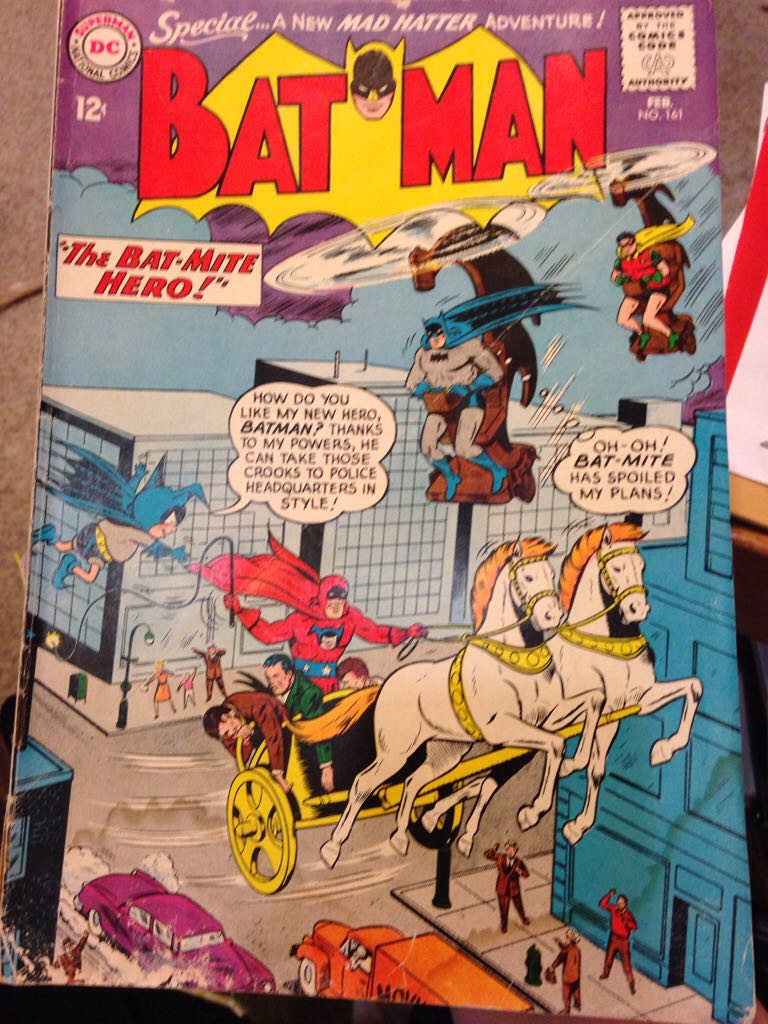 Batman - 161 cover
