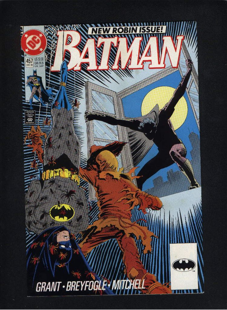 Batman - 457 cover