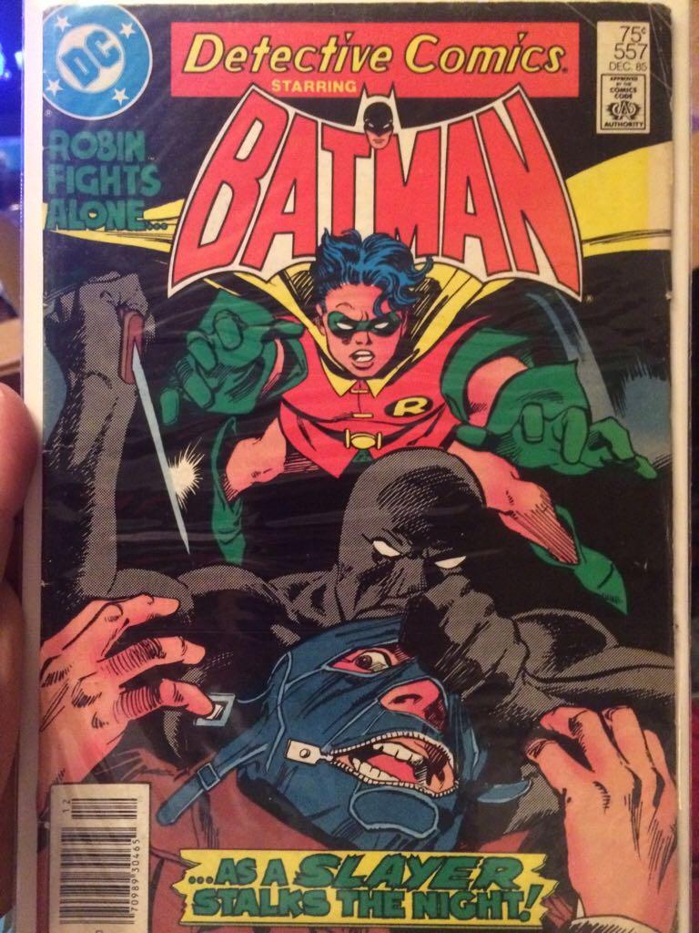 Batman - 557 cover