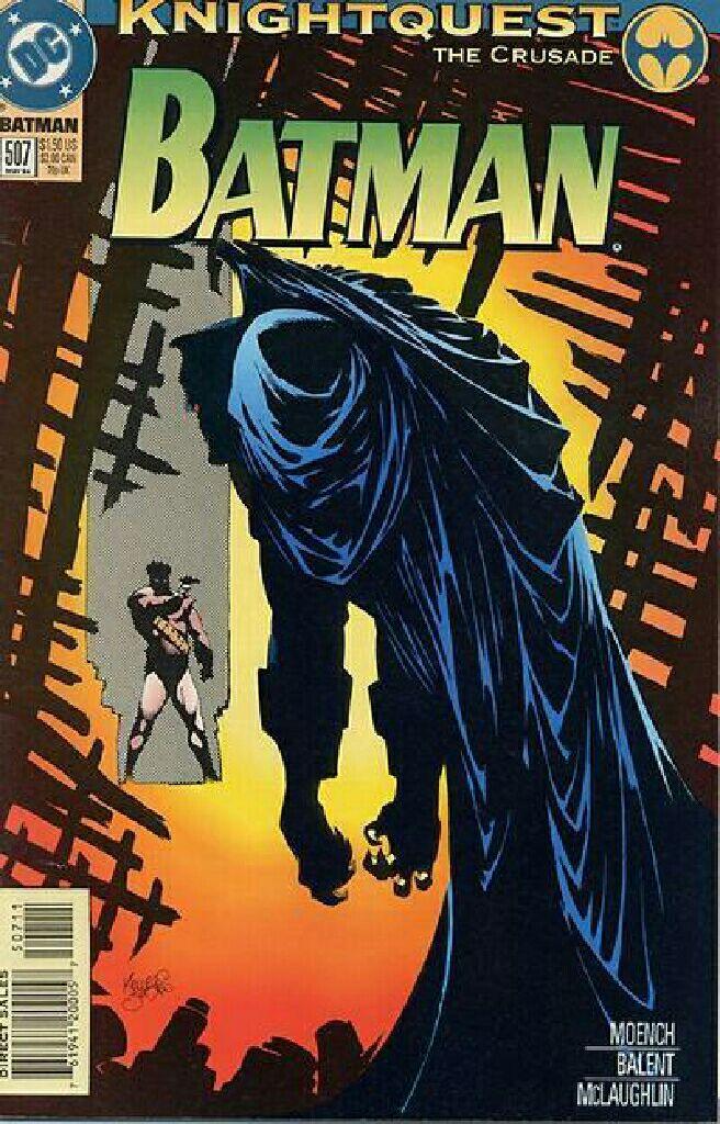 Batman - 507 cover