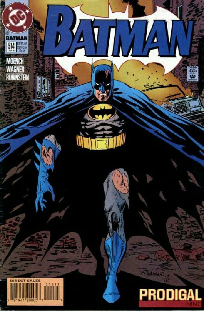 Batman - 514 cover