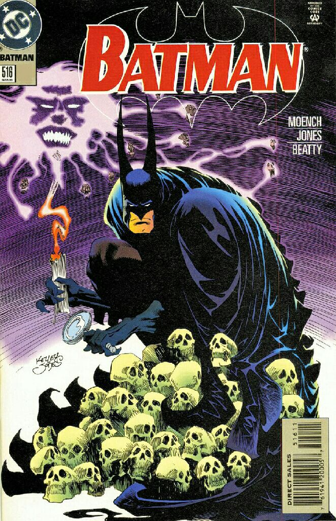 Batman - 516 cover