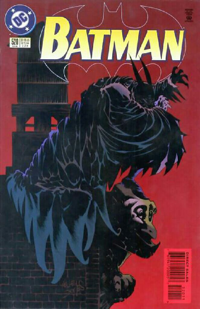 Batman - 520 cover