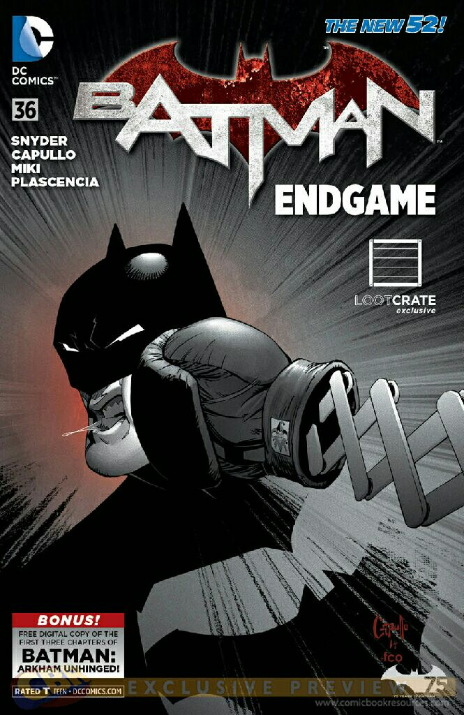 Batman - 36 cover