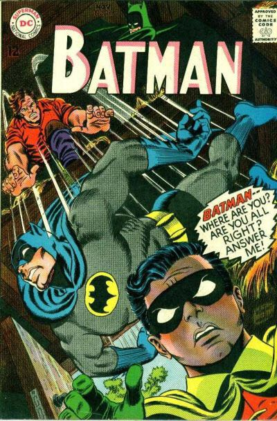 Batman - 196 cover