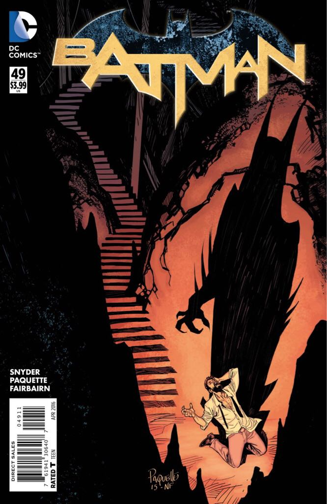Batman - 49 cover