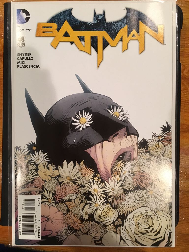 Batman - 48 cover